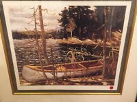Tom Thomson The Canoe