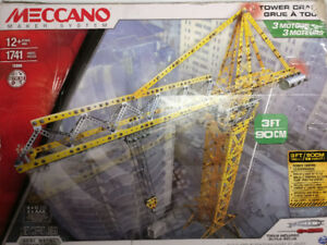 Meccano Tower Crane 15308