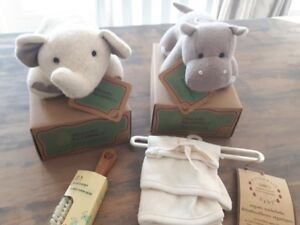 Set of organic baby items