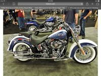 WANTED - Brand new Harley Deluxe exhaust system