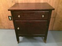 Antique bed side/washstand