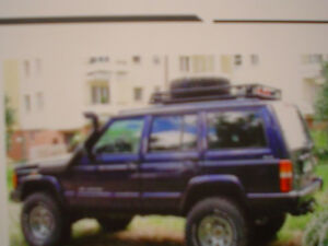 Snorkel raised air intake Jeep Cherokee Toyota land rover West Island Greater Montréal image 2