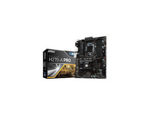 MSI H270-A PRO Motherboard