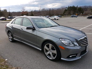 2011 Mercedes Benz E350 Mint Mint Mint, Low km's