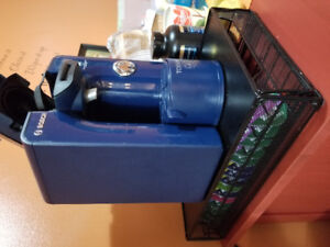 Bosch Tassimo (Blue) TAS 55xxUC Coffee Maker with manual.
