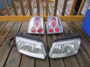 1998 1999 2000 2001 2002 volkswagen passat headlights taillights