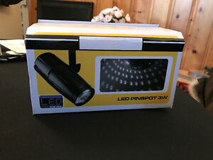 LED Pinspot 3 Watt Lights