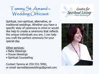 Wedding Officiant - Create a unique, amazing wedding!