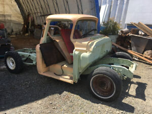 1959 chevy step side   PROJECT  or trade for skid steer