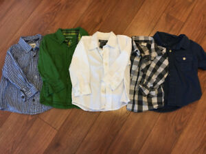 Boys dress shirts size 2t