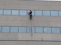 Lavage de vitres & Nettoyage de gouttières