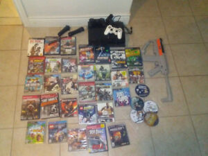 Selling ps3 with games/ extra