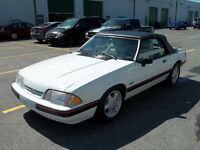 1988 Ford Mustang Lx 5.0 Litres Cabriolet