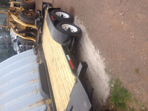 Equipment/car tilt trailer 16'