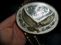 NICE BELT WITH AN AWESOME BUCKLE