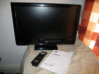 """Buy this LED JVC tv 22"""" and get for free Humax recorder"""