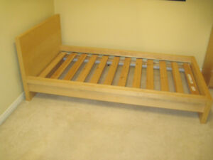 Malm twin bed frame