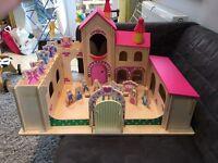 Wooden Fairy Princess Castle