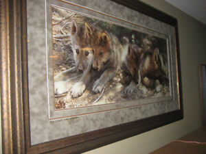 CARL BRENDERS-PICK OF THE PACK FRAMED LIMITED EDITION
