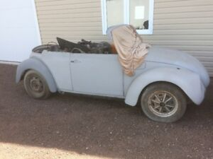 1979 VW Beetle convertible - project car