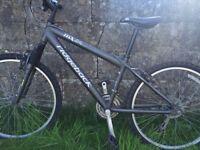 "Ridgeback mx24 mountain bike front suspension 24"" wheels"