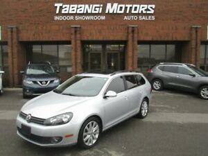 2013 Volkswagen Golf Wagon TDI | HIGHLINE | LEATHER | SUNROOF |