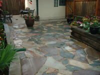 Flagstrone Patios & Walkways