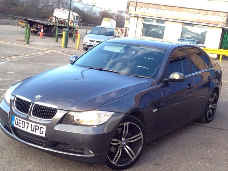 bmw 320d 2007 diesel half leather seats tinted windows service history new tyres p x. Black Bedroom Furniture Sets. Home Design Ideas