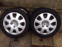 Peugeot wheels 205/50 r15