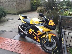 Yamaha R6 - Special Edition R46 Rossi Replica