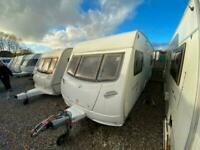 LUNAR LIGHTNING 2007 MODEL 4 BERTH IXED BED TOURING CARAVAN