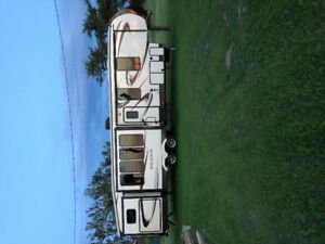 2015 Forest River 5th wheel with bunkhouse