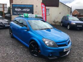 2010 59 VAUXHALL ASTRA VXR 2.0i 3 DOOR HATCHBACK ARDEN BLUE TOP SPEC WARRANTY