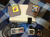 NES w/ 2 games and 2 controllers