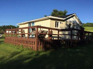 Cozy, Lakeside Cottage for Rent.  Lochaber Lake, Antigonish, NS