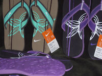 New-With-Tags Nike FIip Flops / Thongs $25 Ea or All 3 for $50
