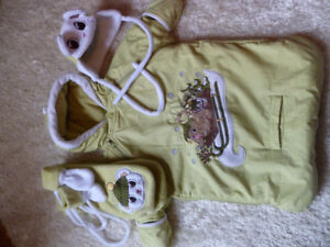 new born snowsuit