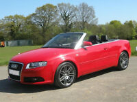 Audi A4 Convertible/Cabriolet 2008 S-line Final Special Edition 2.0T Turbo, Audi Warranty,Leather