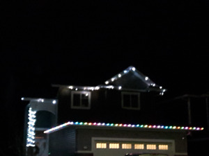 *Christmas Lights REMOVED installed by #1 Choice, BRIGHT LIGHTS*