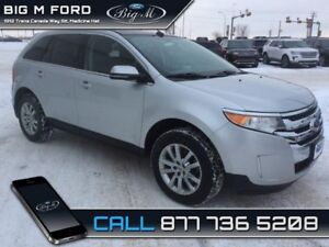 2014 Ford Edge Limited  - Leather Seats -  Bluetooth - $164.94 B