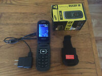 Samsung Rugby III Flip Phone - Like New (Barely Used)