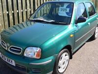 Nissan Micra 1.0 16v CVT 2001 S Automatic / Low mileage / FSH