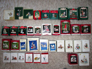 Frosty Friends Christmas Tree Ornaments Collection