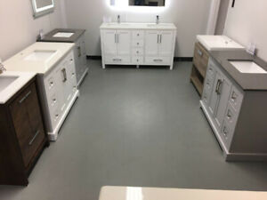 "WOOD Bathroom Vanities """""" Warehouse Sale """""""