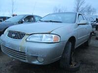 2001 Nissan Sentra Available at Kenny U Pull Ottawa