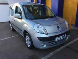 2010 Renault Kangoo 1.6 16v AUTOMATIC Expression WHEEL CHAIR CONVERTED