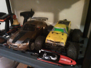 Rc truck/cars and plane..check other adds!!!!!!!!!!