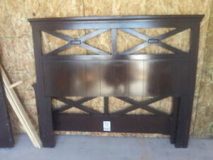 headboard and footboard set,,,dbl or queen
