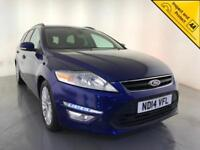 2014 FORD MONDEO ZETEC BUSINESS EDN TDCI ESTATE FORD SERVICE HISTORY 1 OWNER