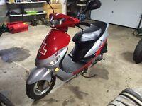 Peugeot v clic scooter